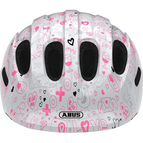 ABUS Smiley 2.1 Helmet Barn white crush